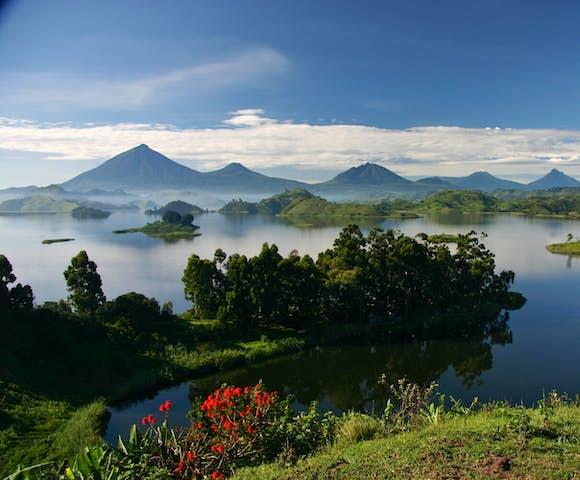 The Virunga Mountain Range; almost unimaginable beauty.