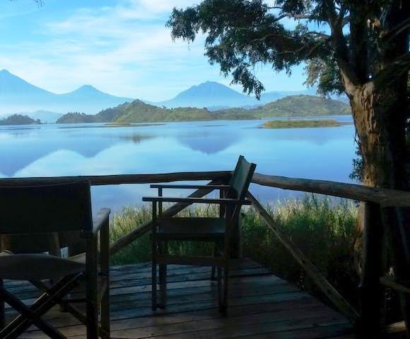 Lake Mutanda Resort, Lake Mutanda.